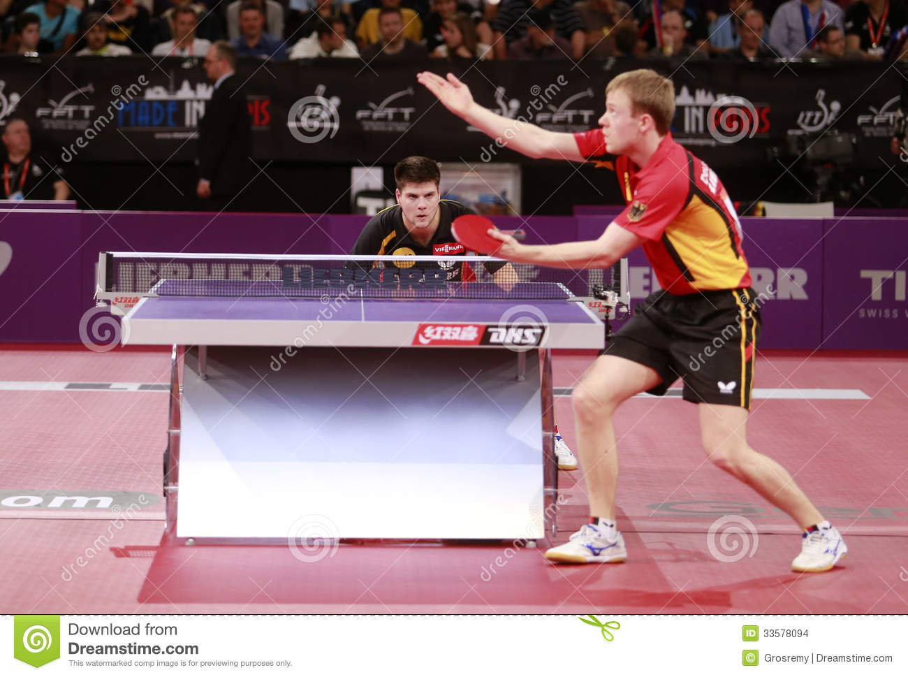 Baum patrick ger editorial stock image image 33578094 - World table tennis championships ...