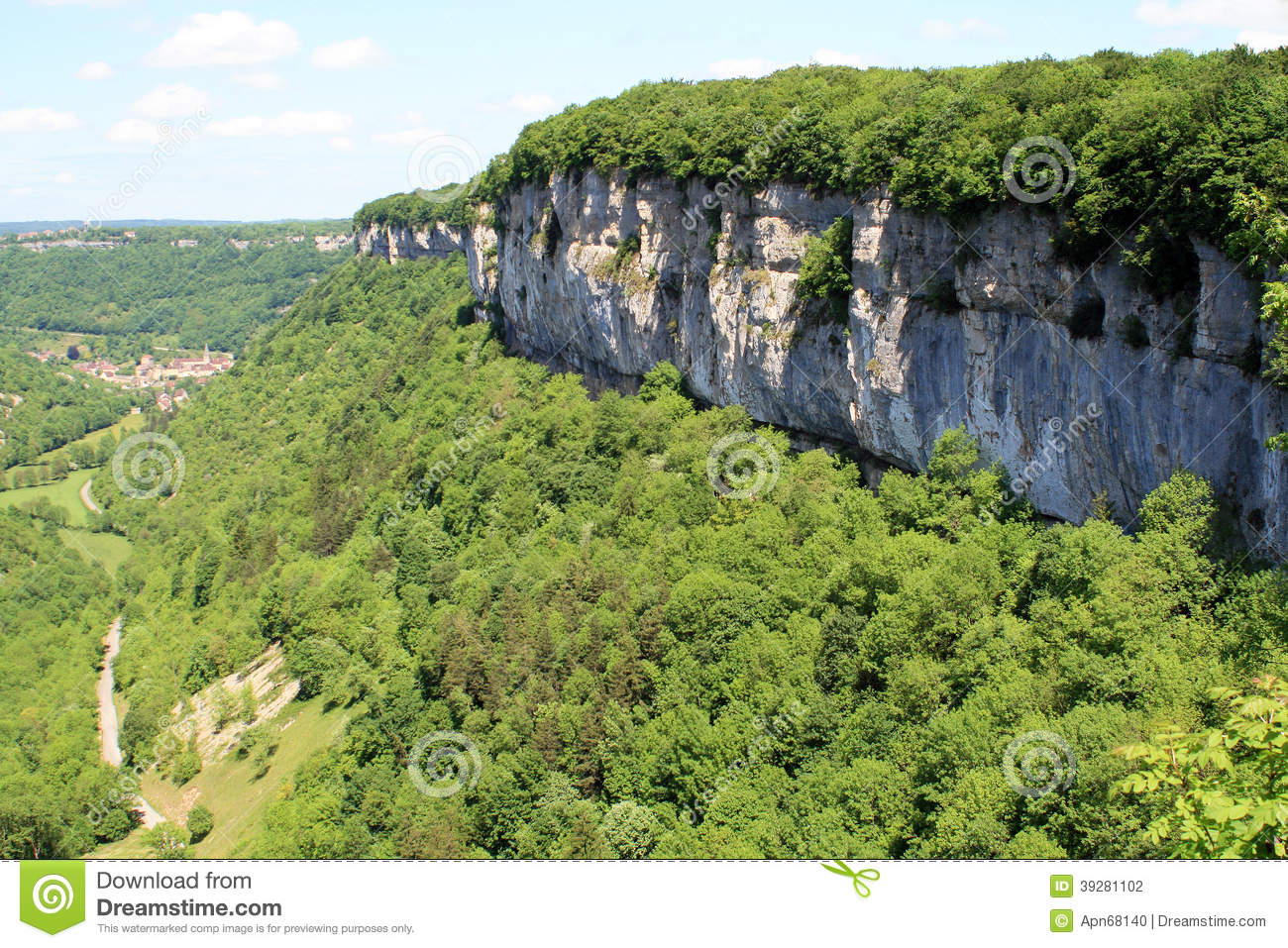 Baume-les-Messieurs in the Jura