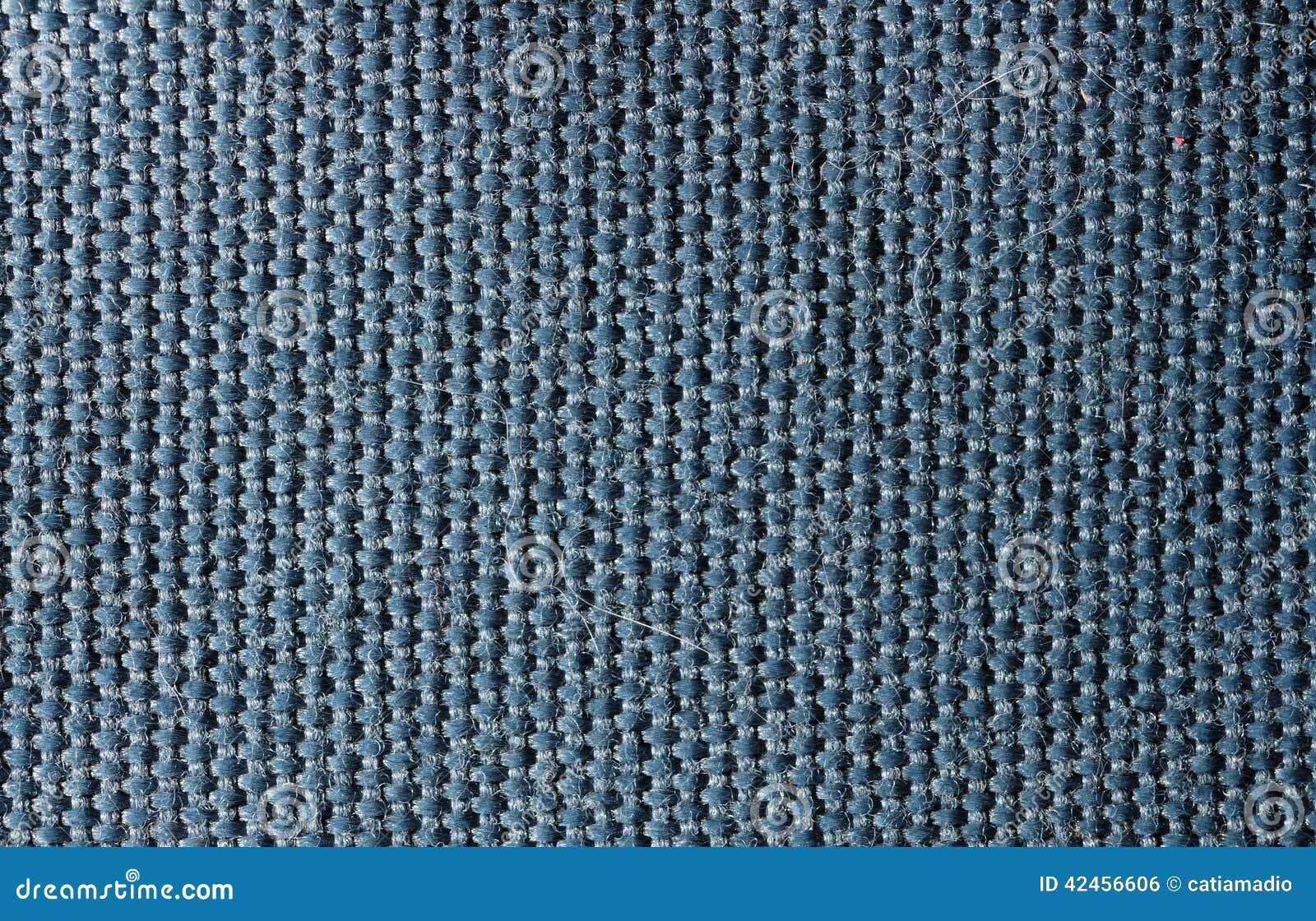 Baumwollmakro blaue Beschaffenheit