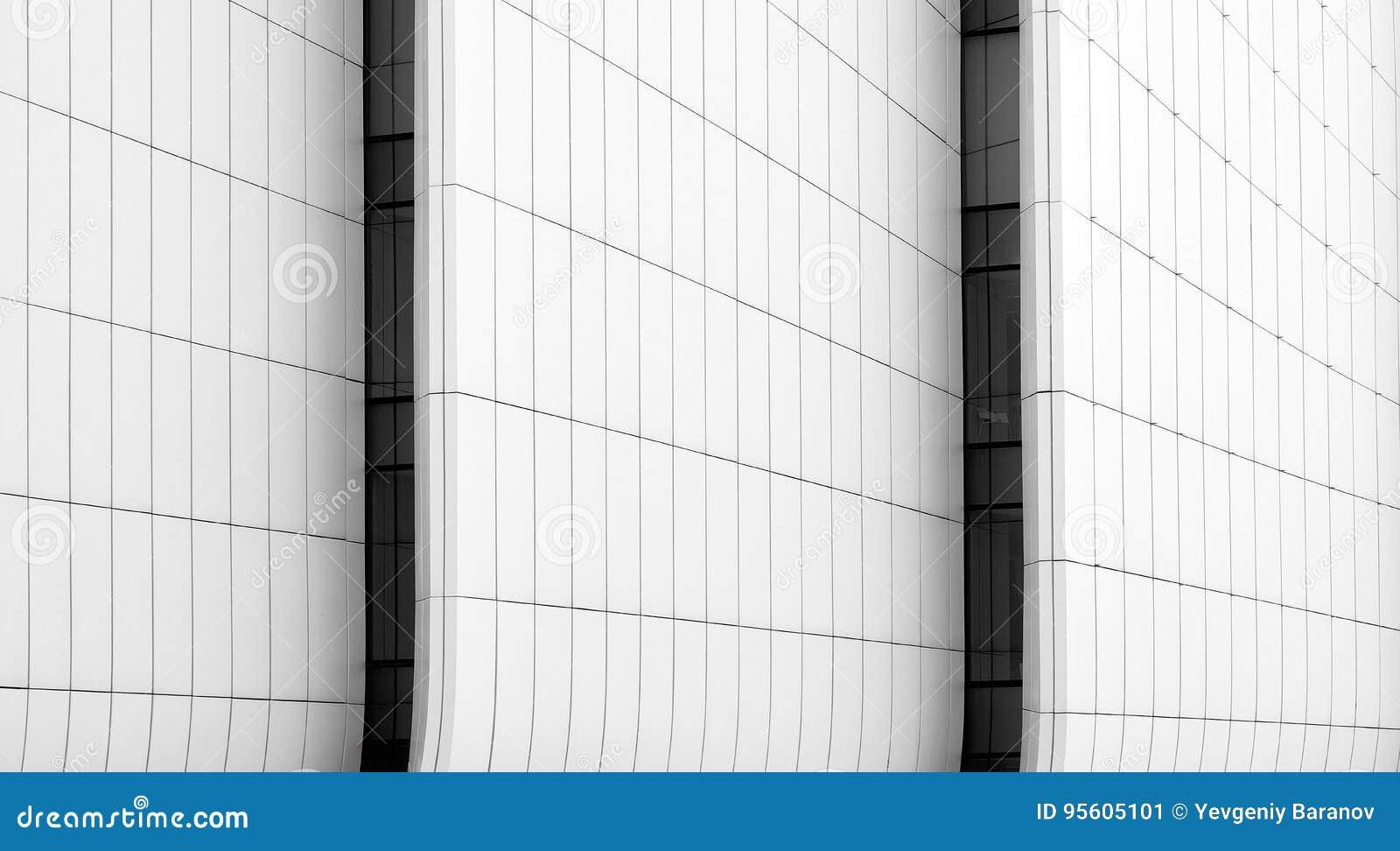 Bauplatten-Zusammenfassungslinien in der Architektur