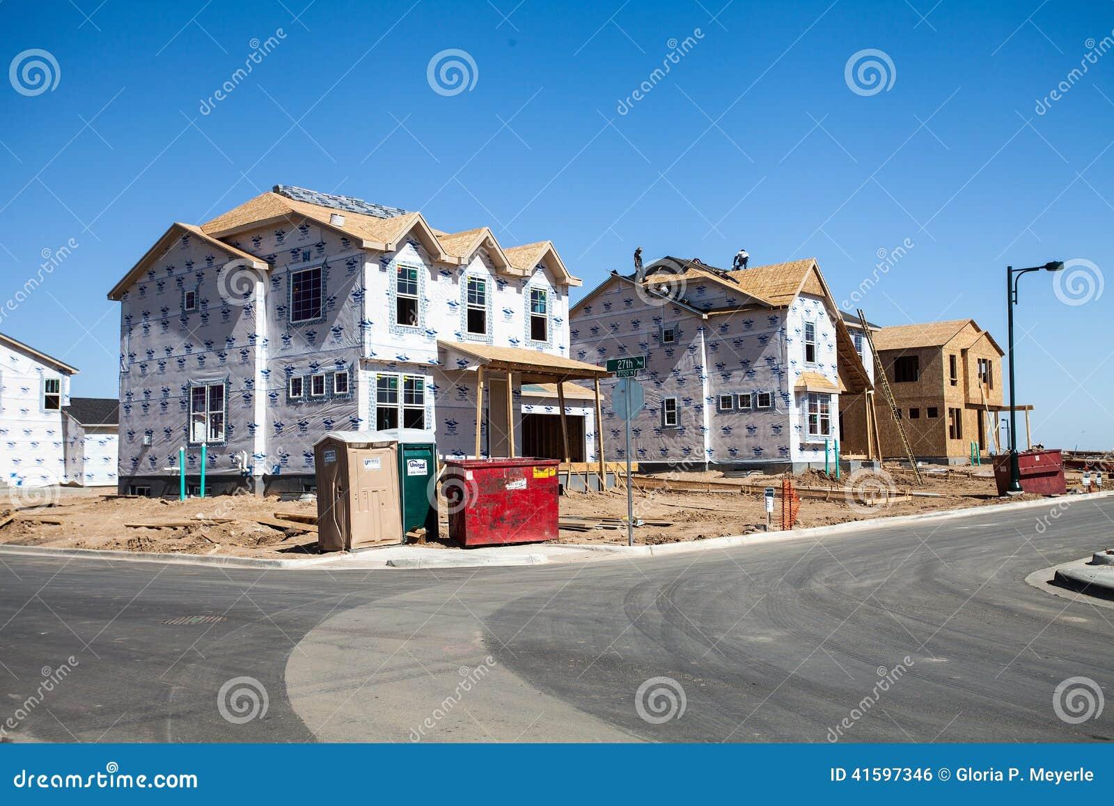 Marvelous Baustelle Von Neuen Häusern