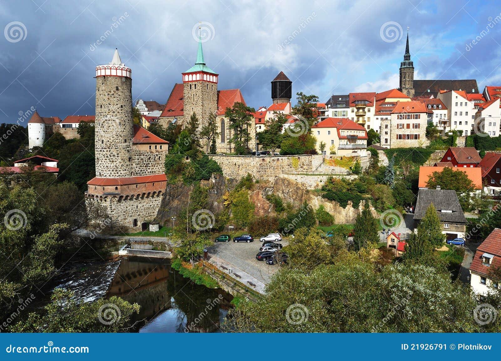 Bautzen panorama Germany