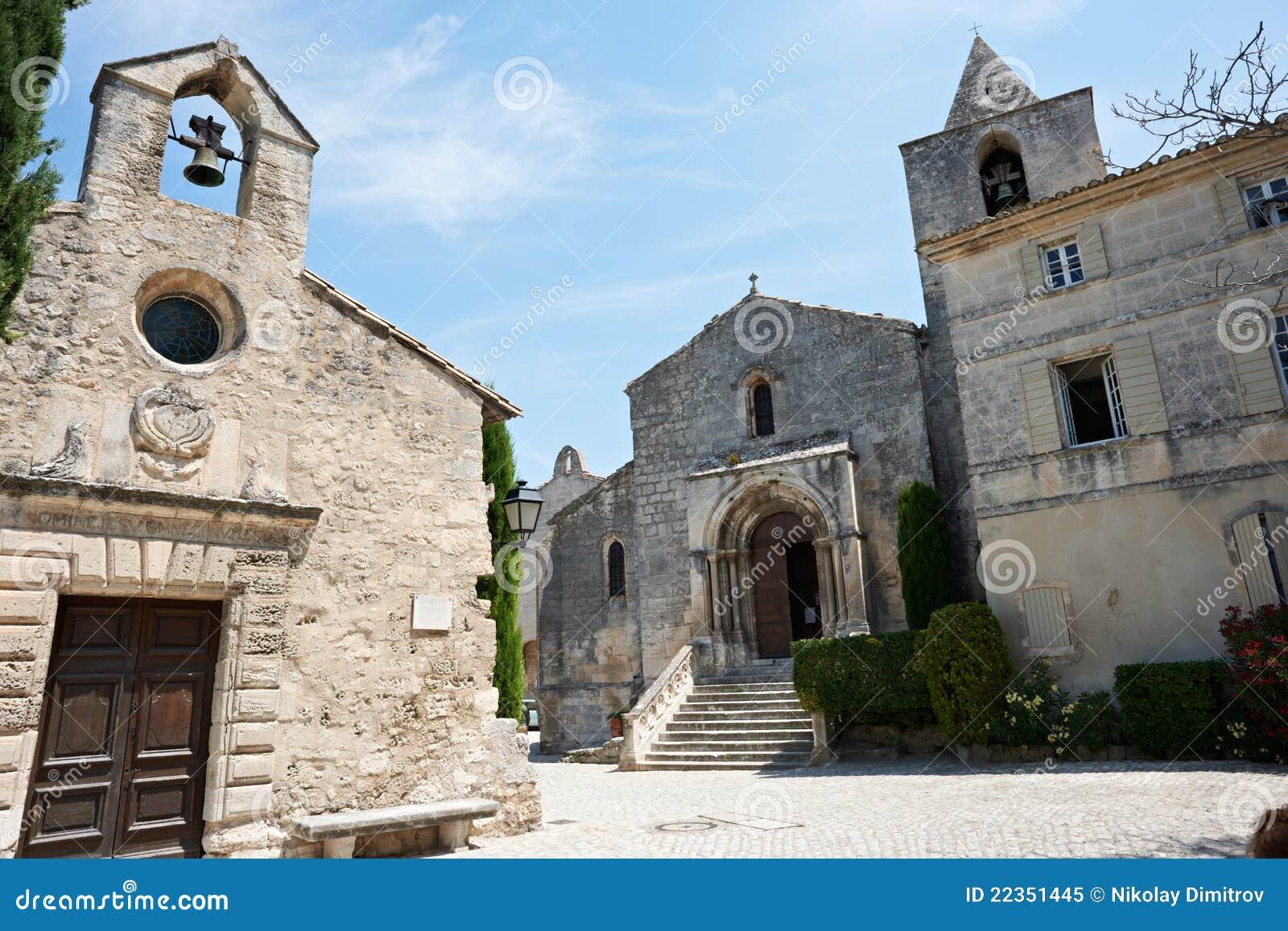 Baux cethedral教会de普罗旺斯