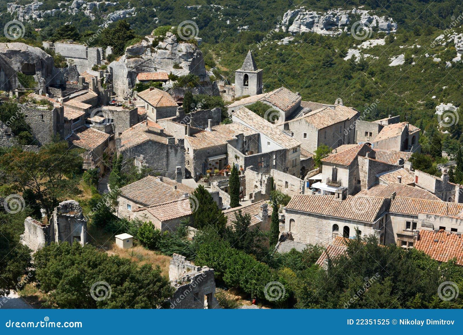 Baux de les普罗旺斯村庄