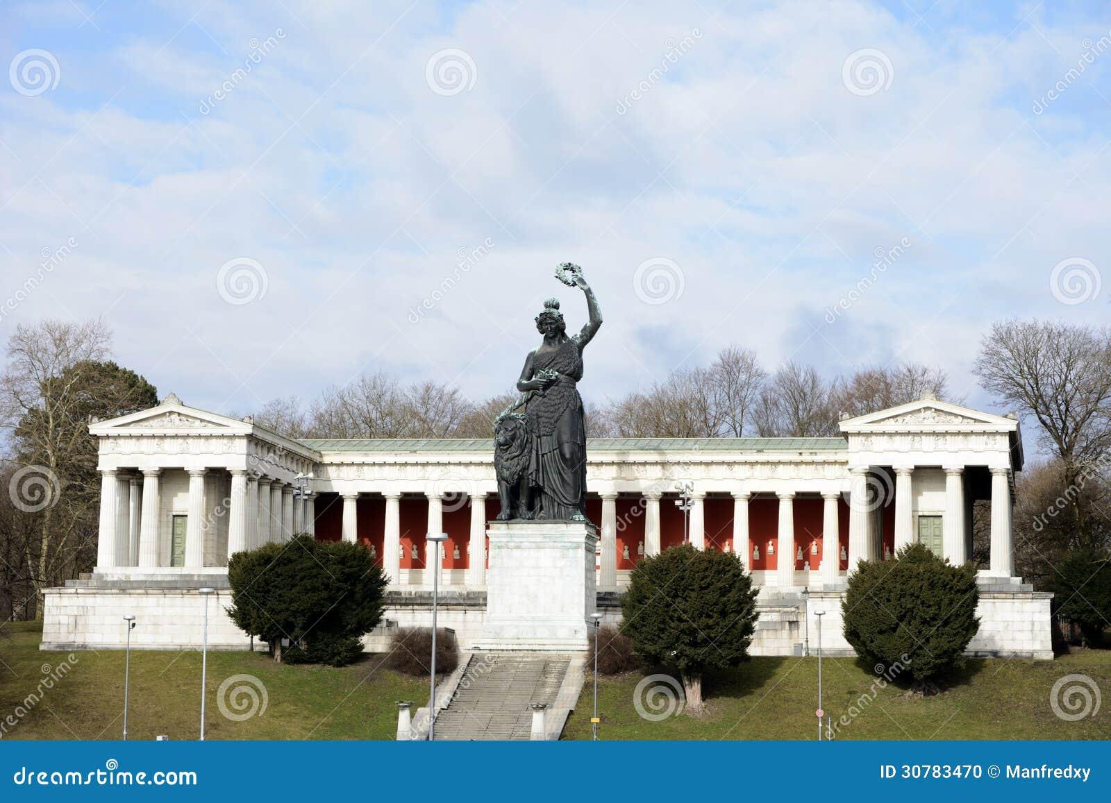 Bavaria Statue Stock Photo - Image: 30783470
