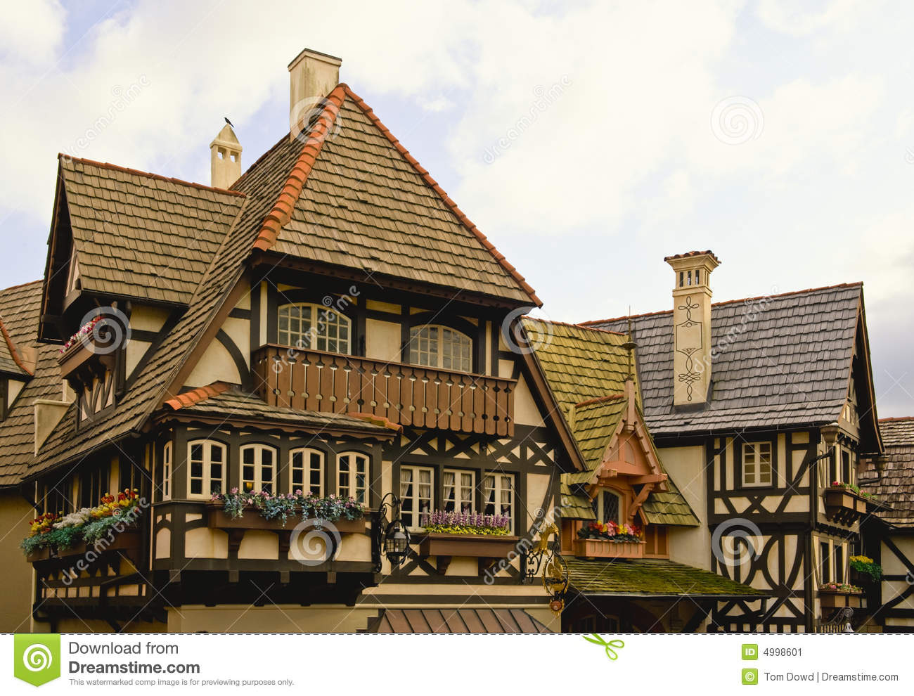 Bavarian Home Stock Image. Image Of House, Exterior, High