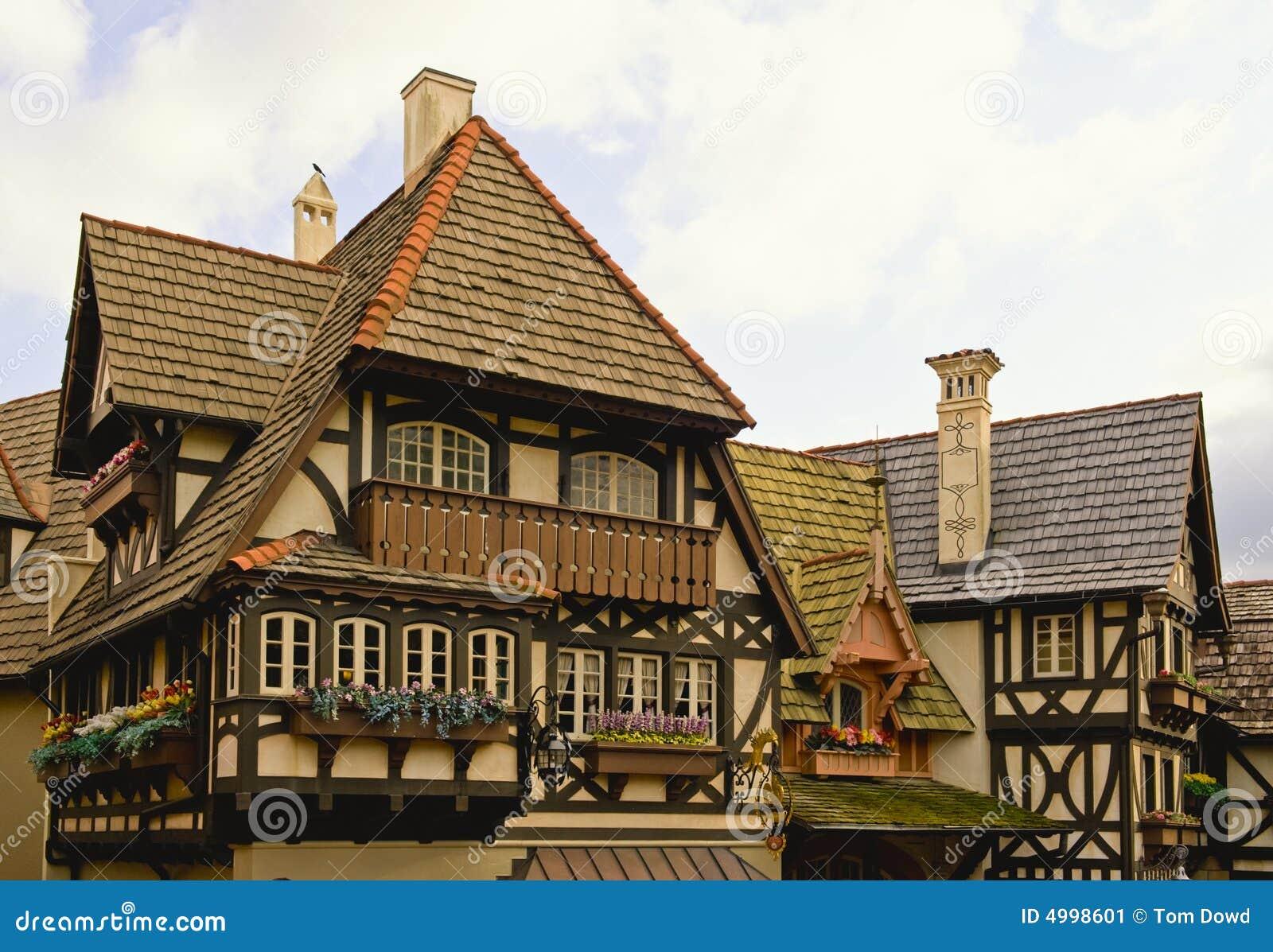 Bavarian Home Stock Image Image 4998601