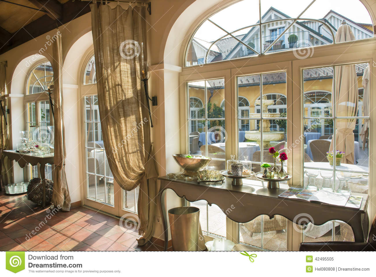Bavarian hotel in country style stock image image 42495505 for Style hotel