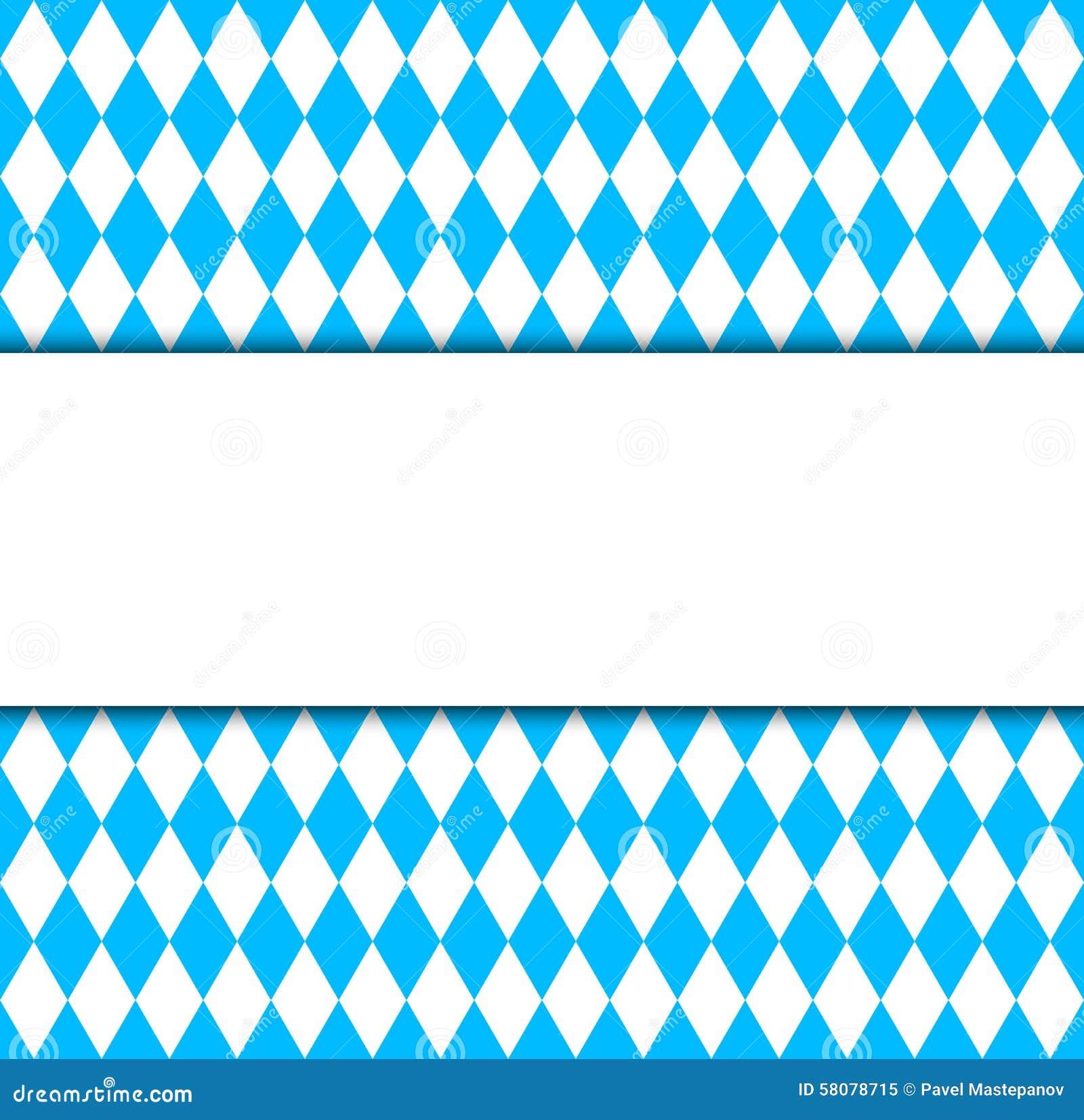 Bavarian Oktoberfest Flag Symbol And Banner Stock ...