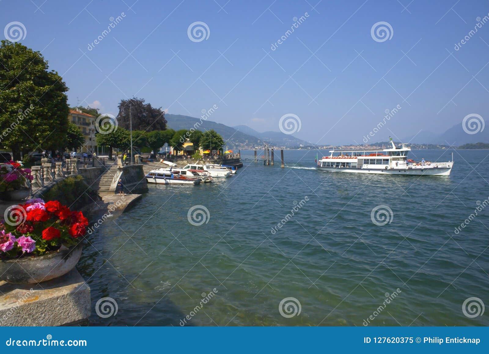 Baveno, озеро Maggiore, Италия