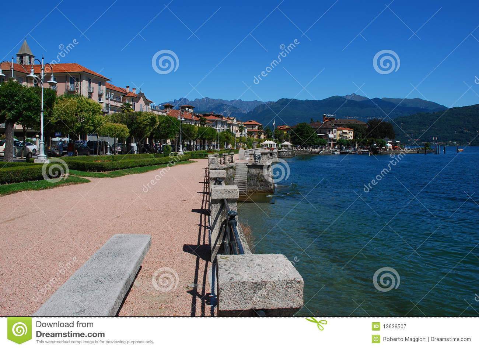 Baveno, Lago Maggiore, Italia