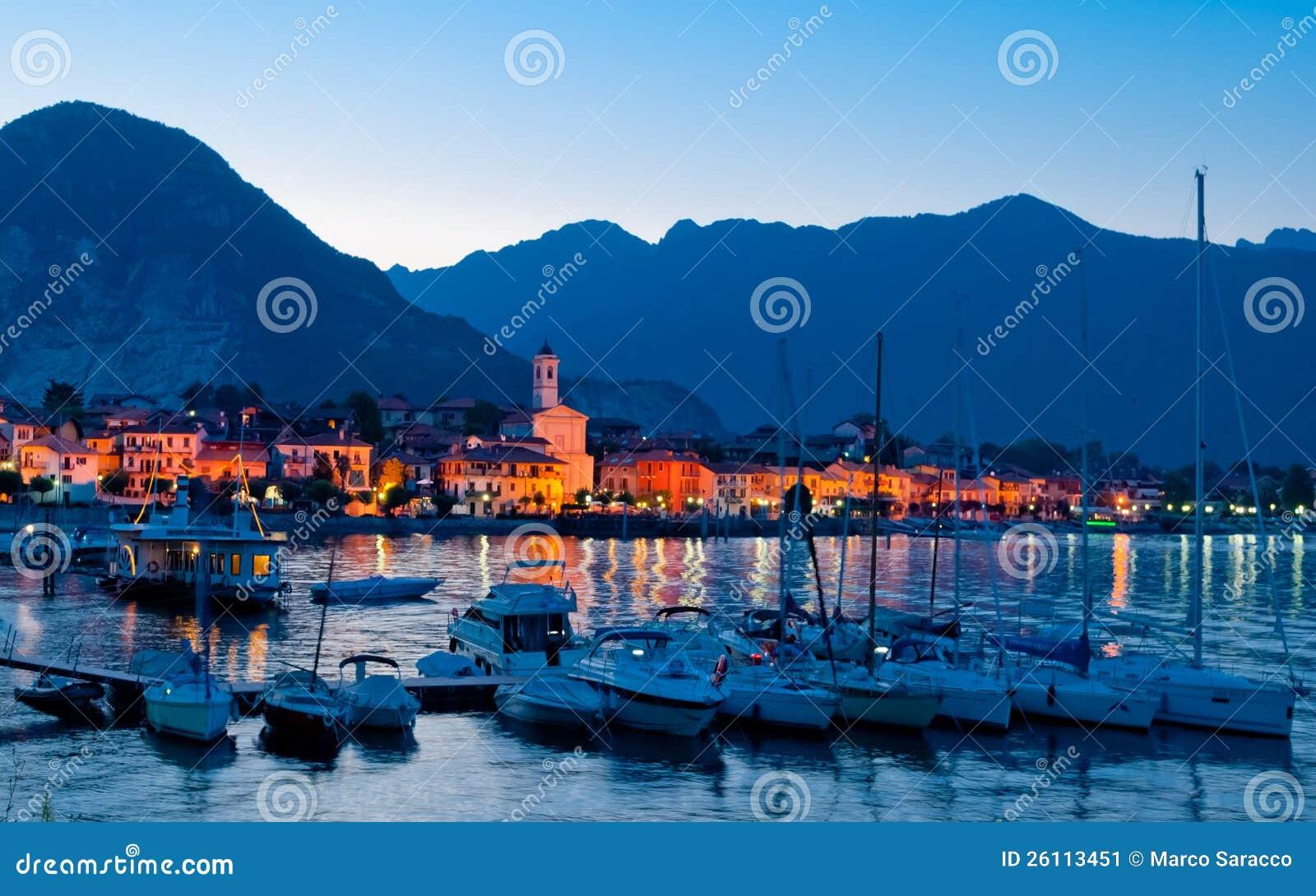 Baveno Lago Maggiore, Italien