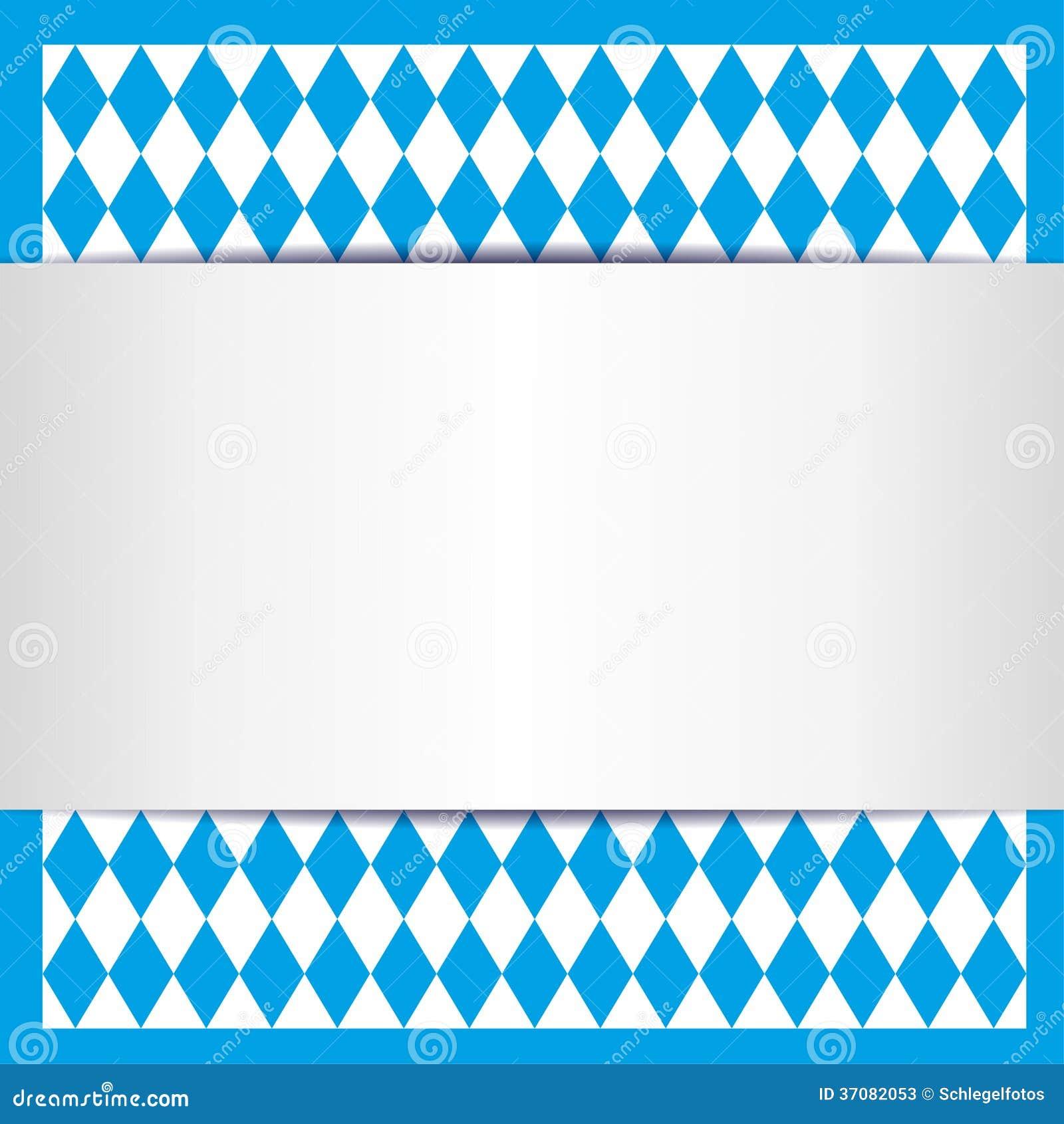 Download Bawarska karta ilustracji. Ilustracja złożonej z wzór - 37082053