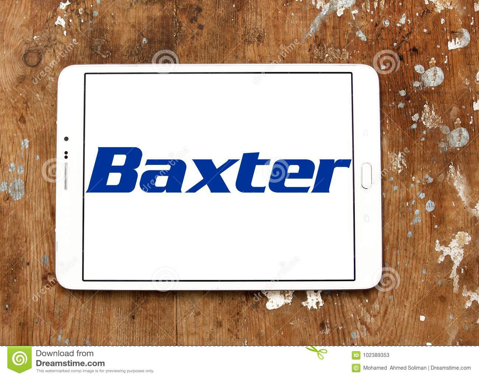 Baxter International firmy logo