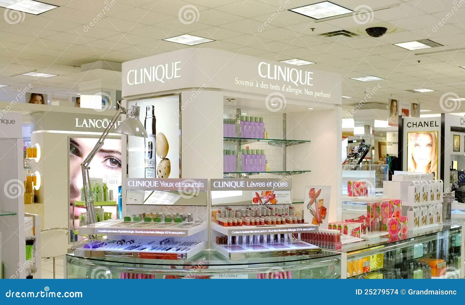 e59a9490e87 The Bay Company Clinique Store Editorial Stock Image - Image of ...