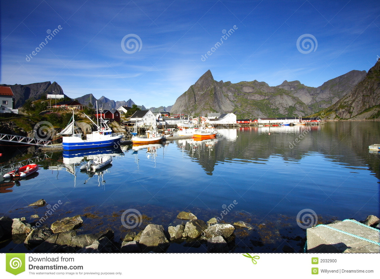 Bay in the lofoten