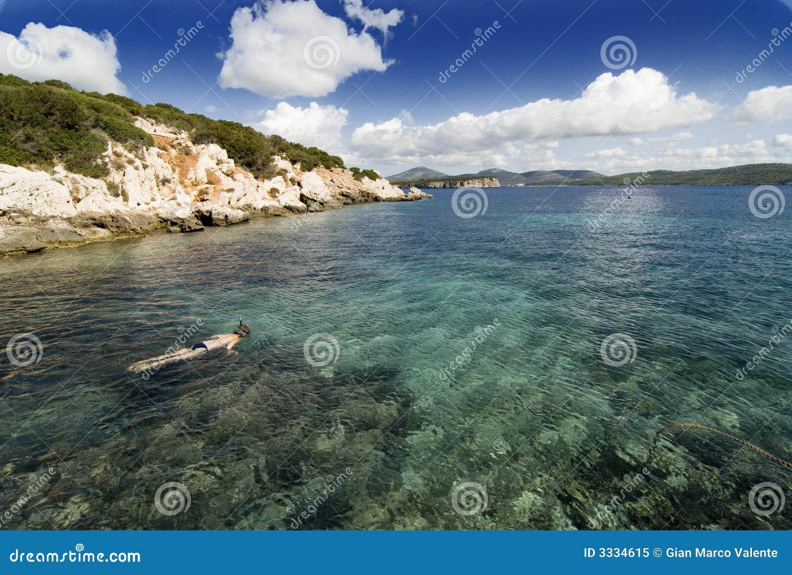Bay in Sardinia