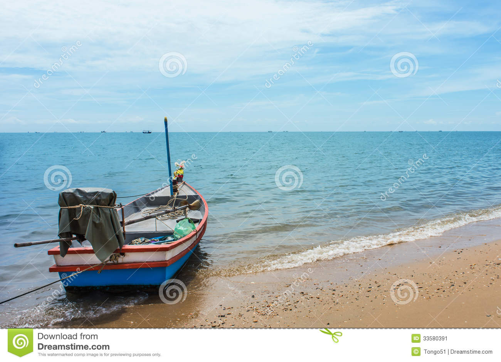 Thailand Sea View Stock Image