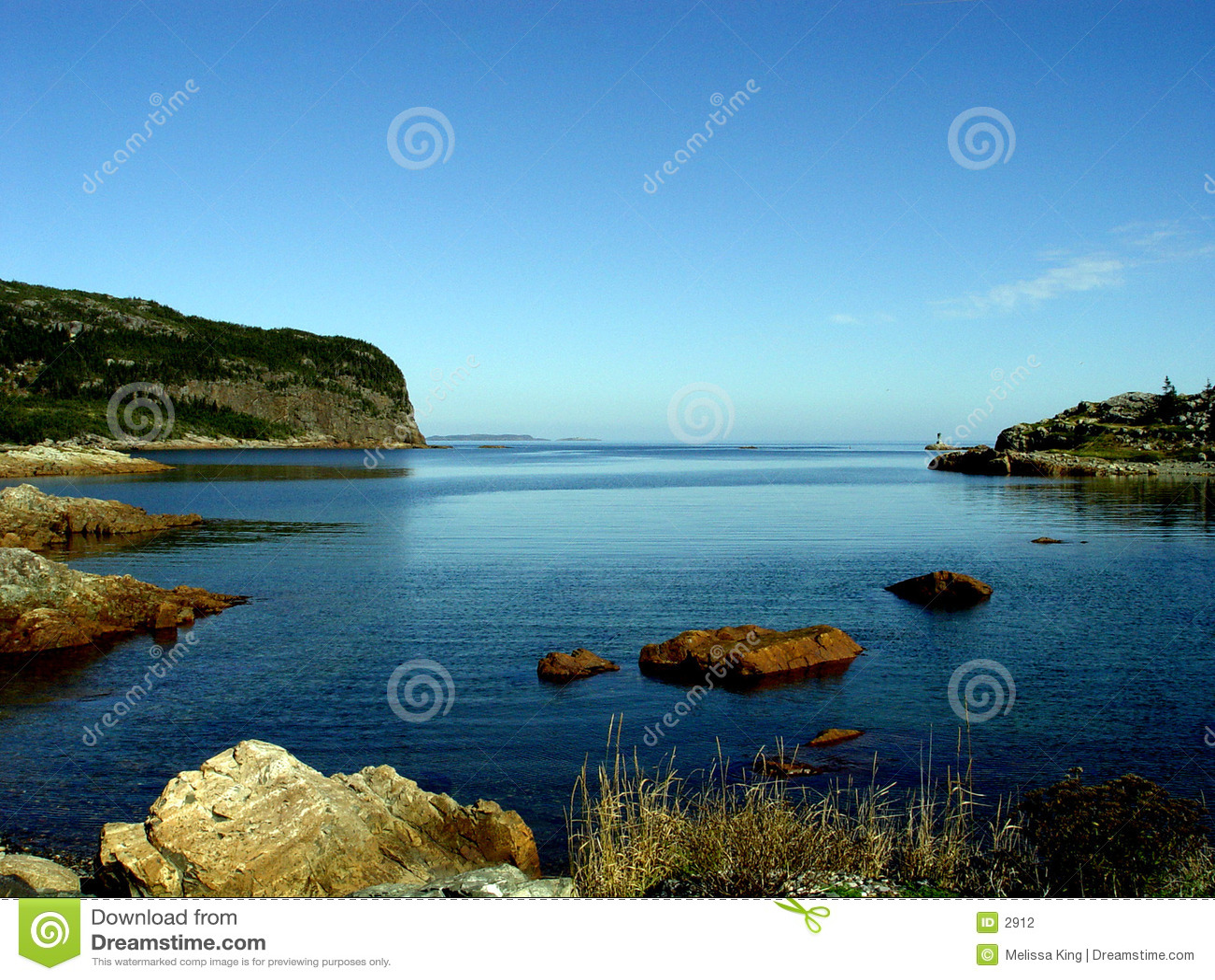 Bay seascape specjalistycznego