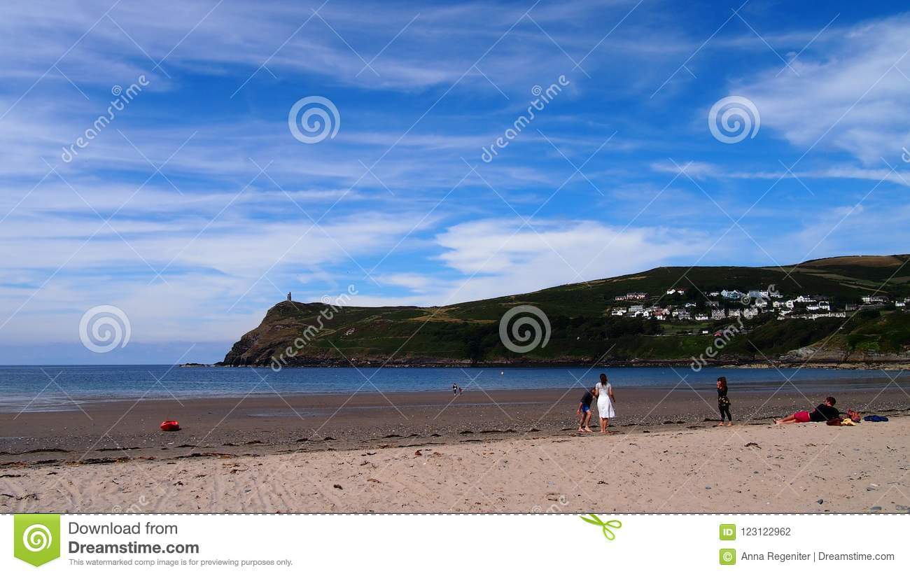 09ffa8481c A summer`s day on the beach of Port Erin on the breathtaking Isle of Man