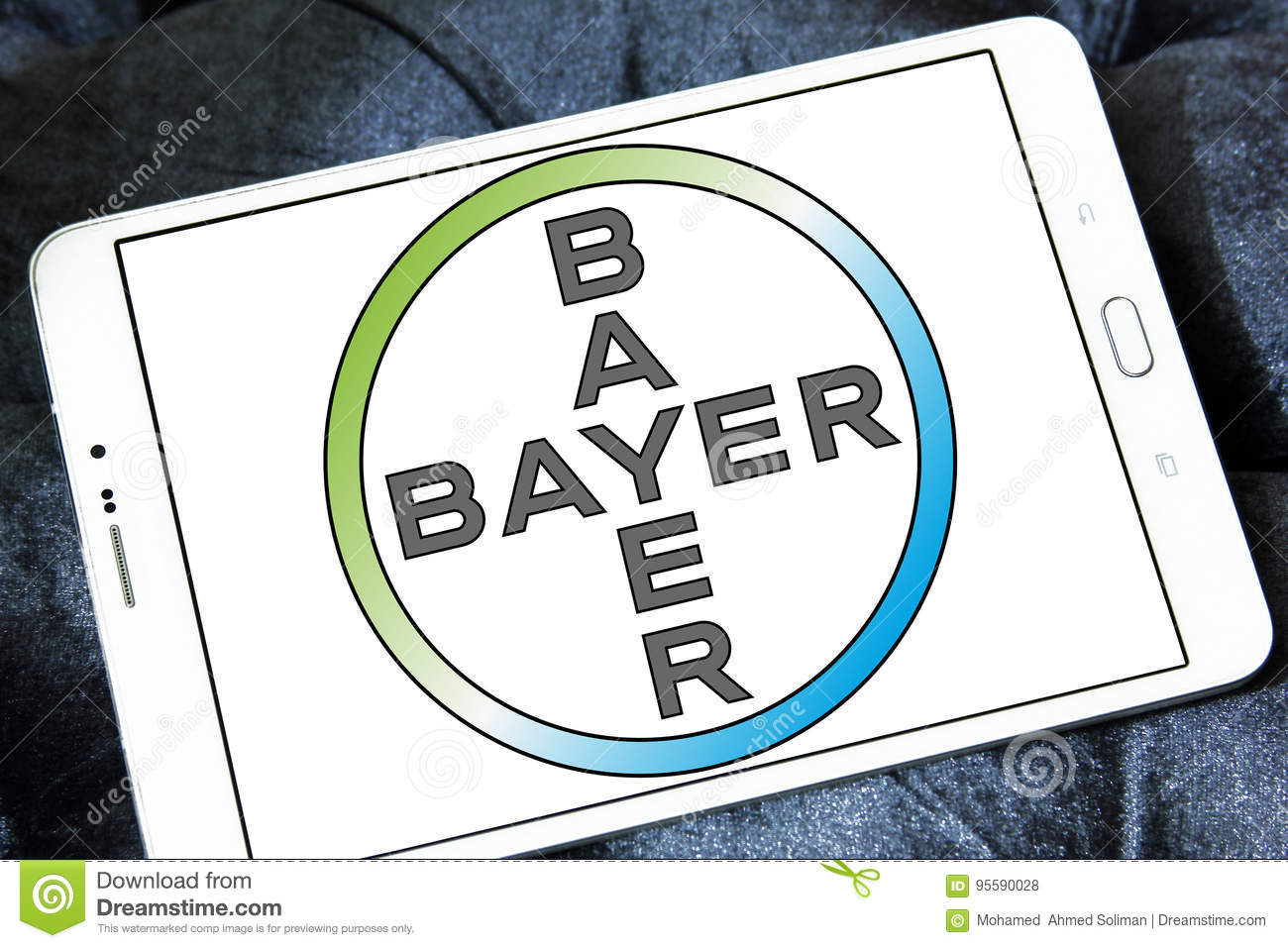 Bayer Pharmaceutical Company Logo Editorial Stock Photo Image Of