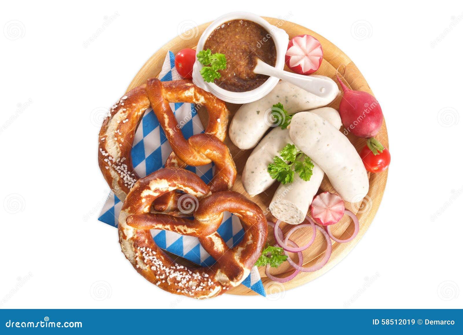 Bayerisches Kalbfleisch-Wurst-Frühstück