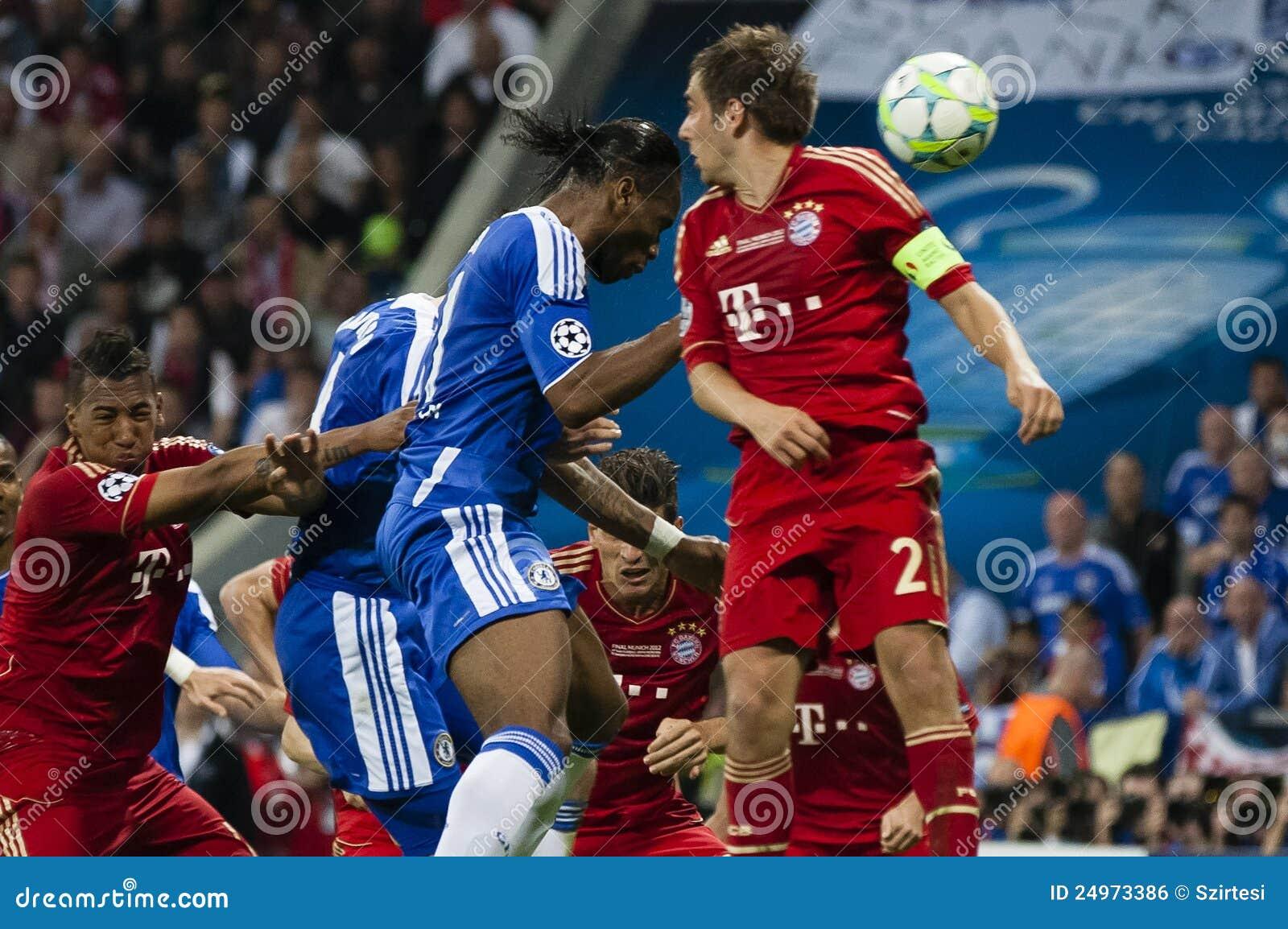 Bayern Munich Vs. Chelsea FC UEFA CL Final Editorial Photo ...