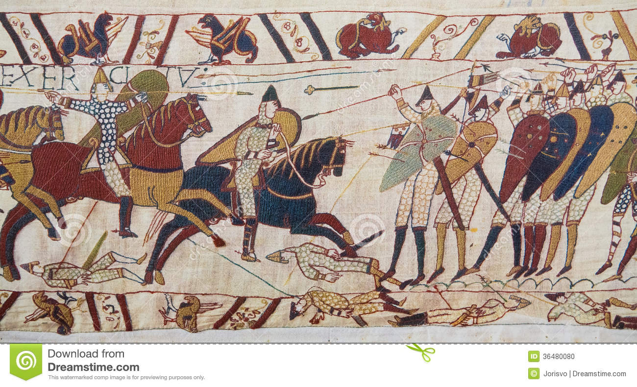 Bayeux-Tapisserie