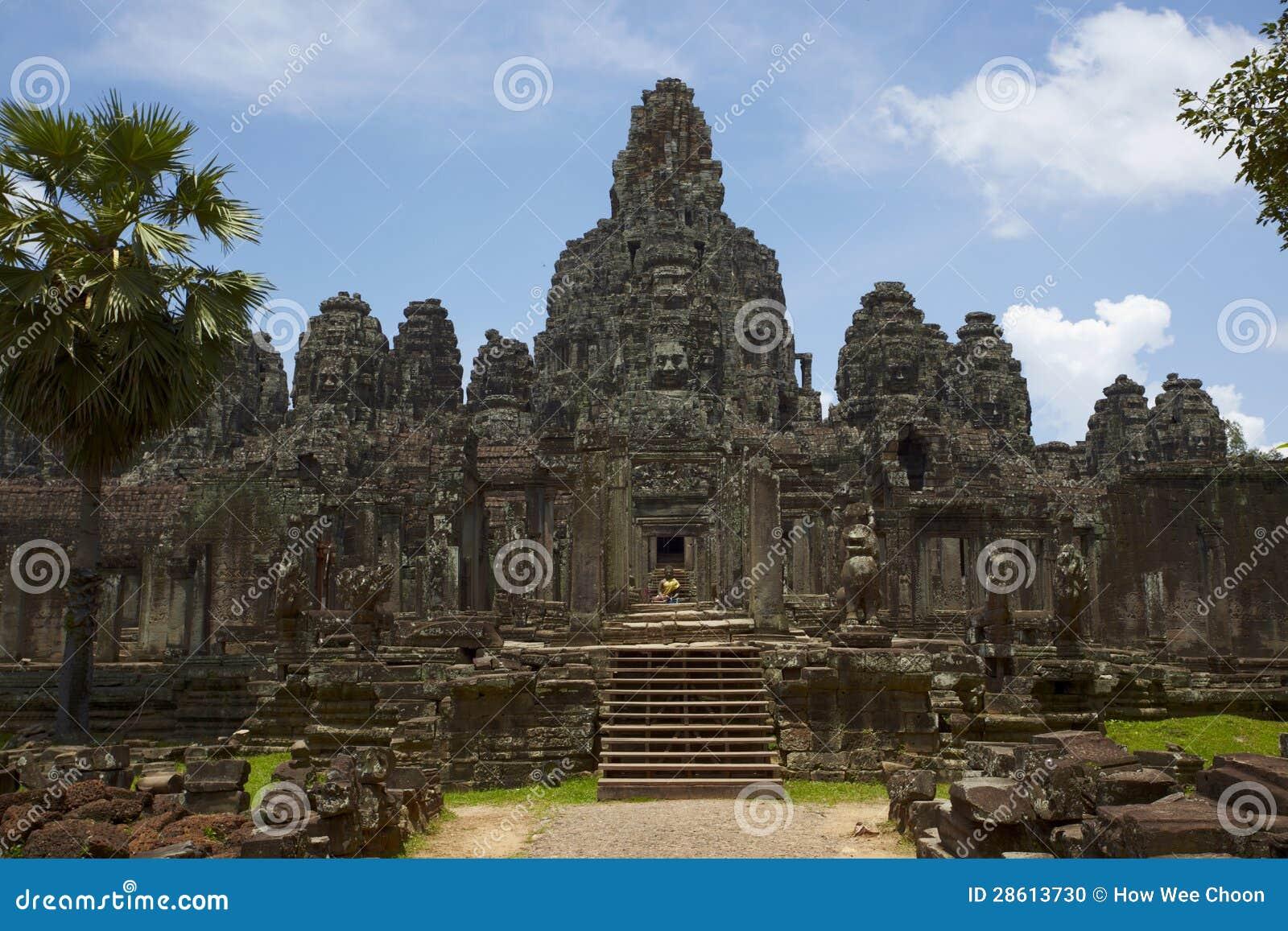 Bayon tempel, Cambodja