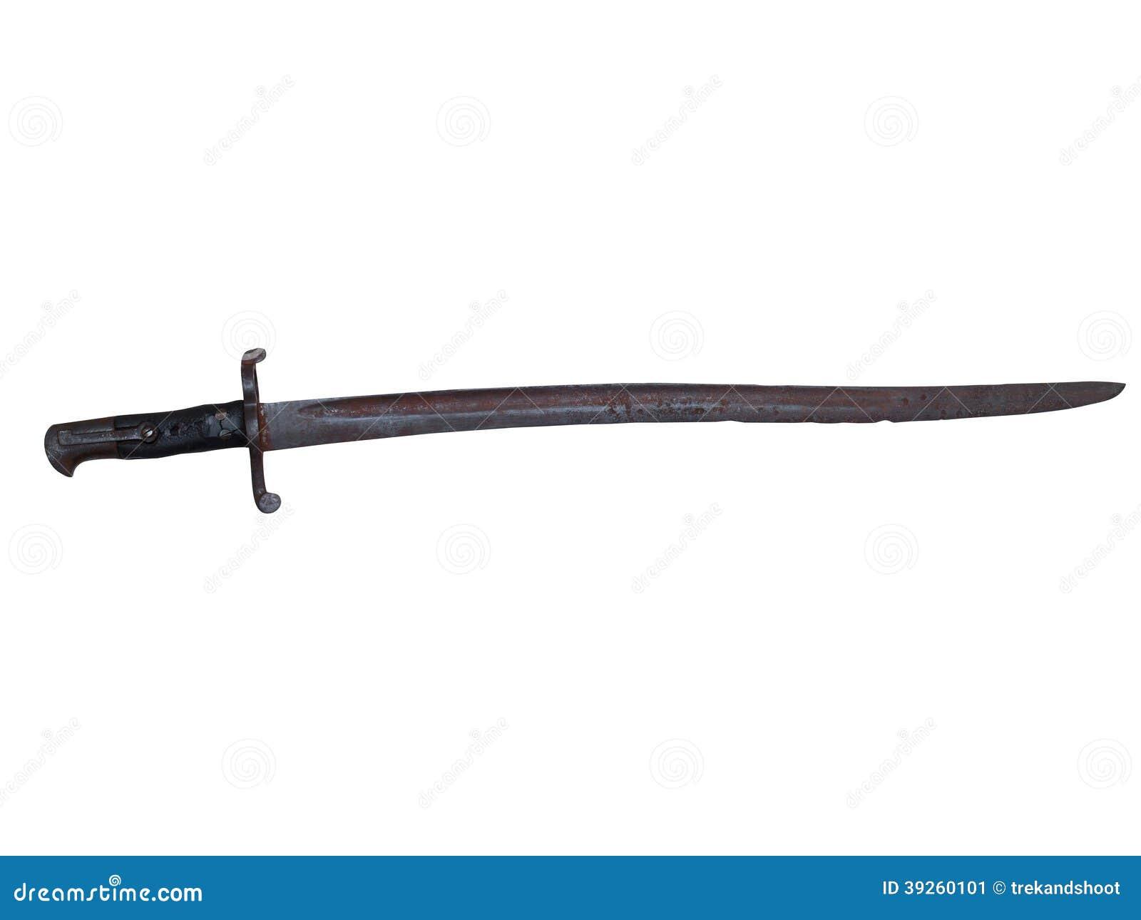 Bayoneta de la guerra civil