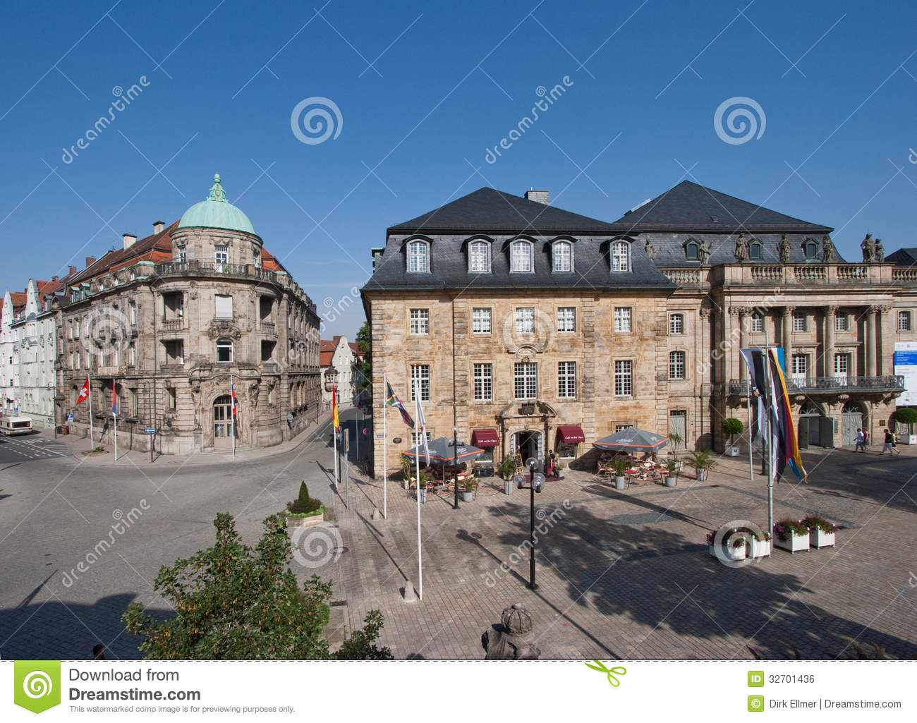 Bayreuth old town - Opera House