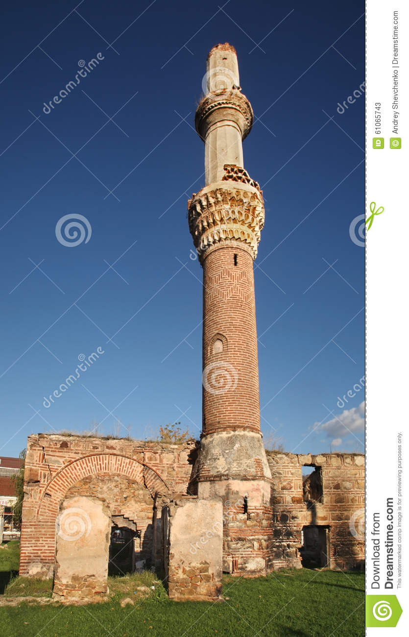Download Bazaar Mosque (Charshi Mosque) In Prilep. Macedonia Stock Image - Image of ruin, building: 61065743