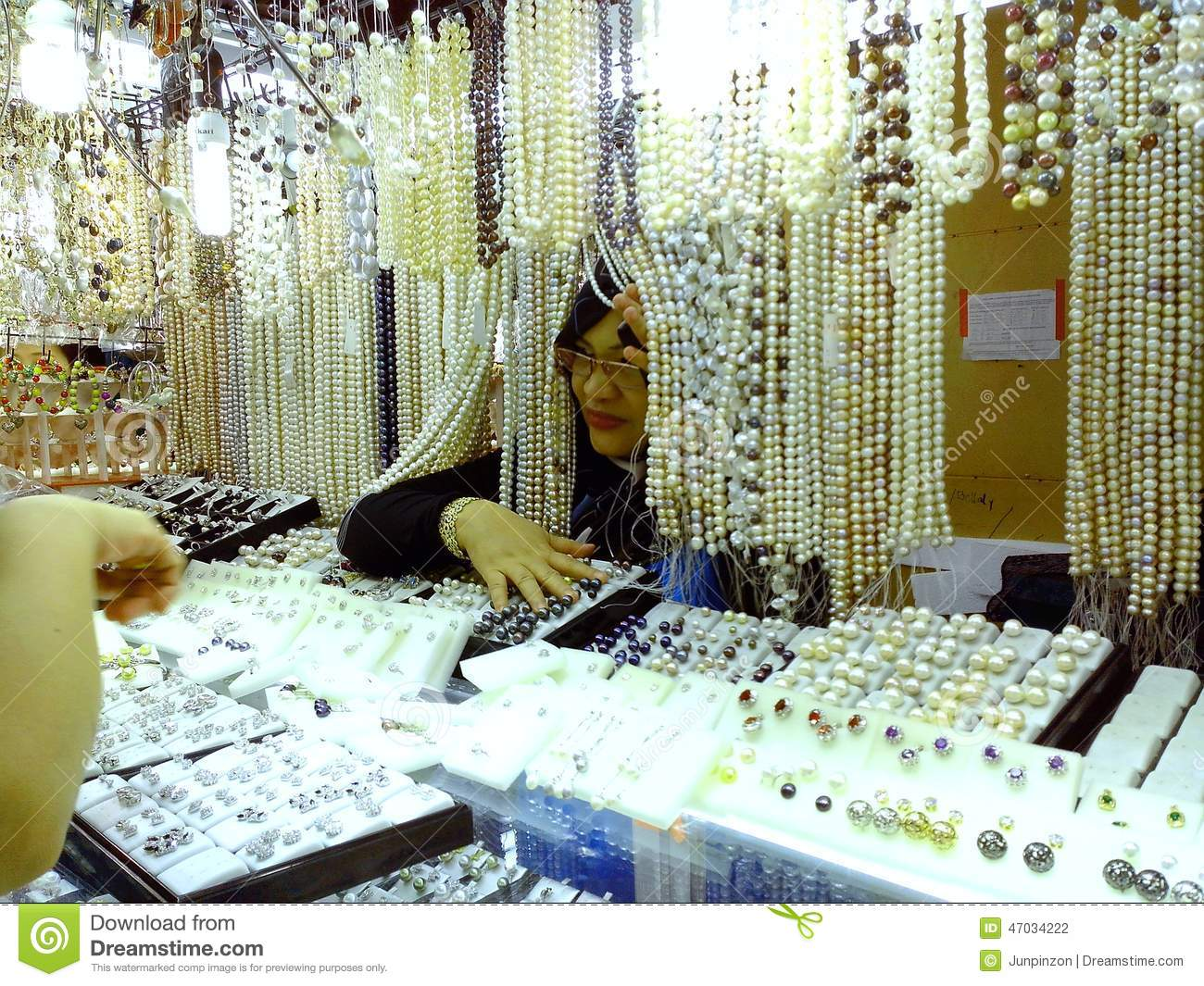 Bazaar shops in greenhills shopping center editorial for Jewelry sale online shopping