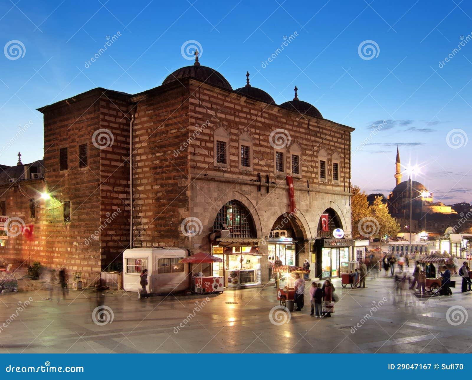 Bazar da especiaria de Istambul