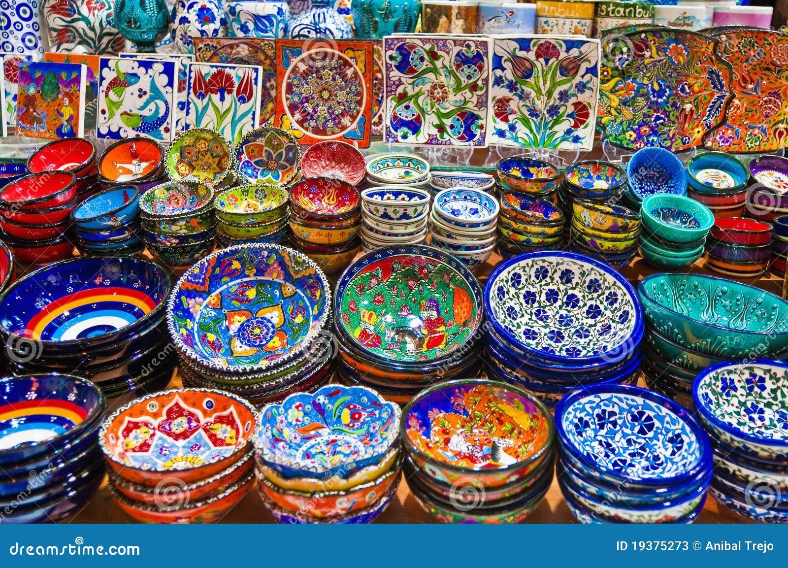 Bazar da especiaria em Istambul