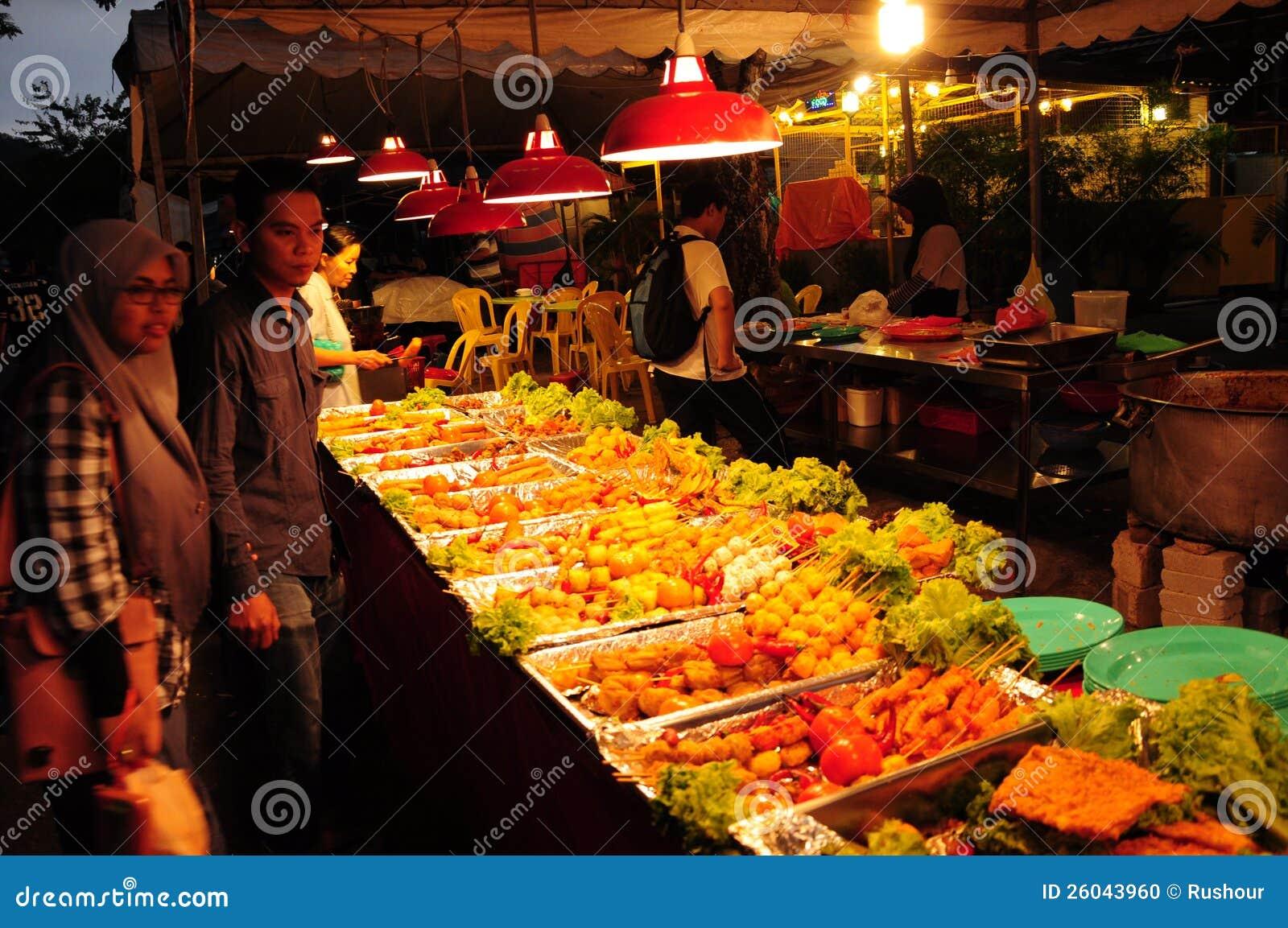 Bazar Kuala Lumpur de Ramadan