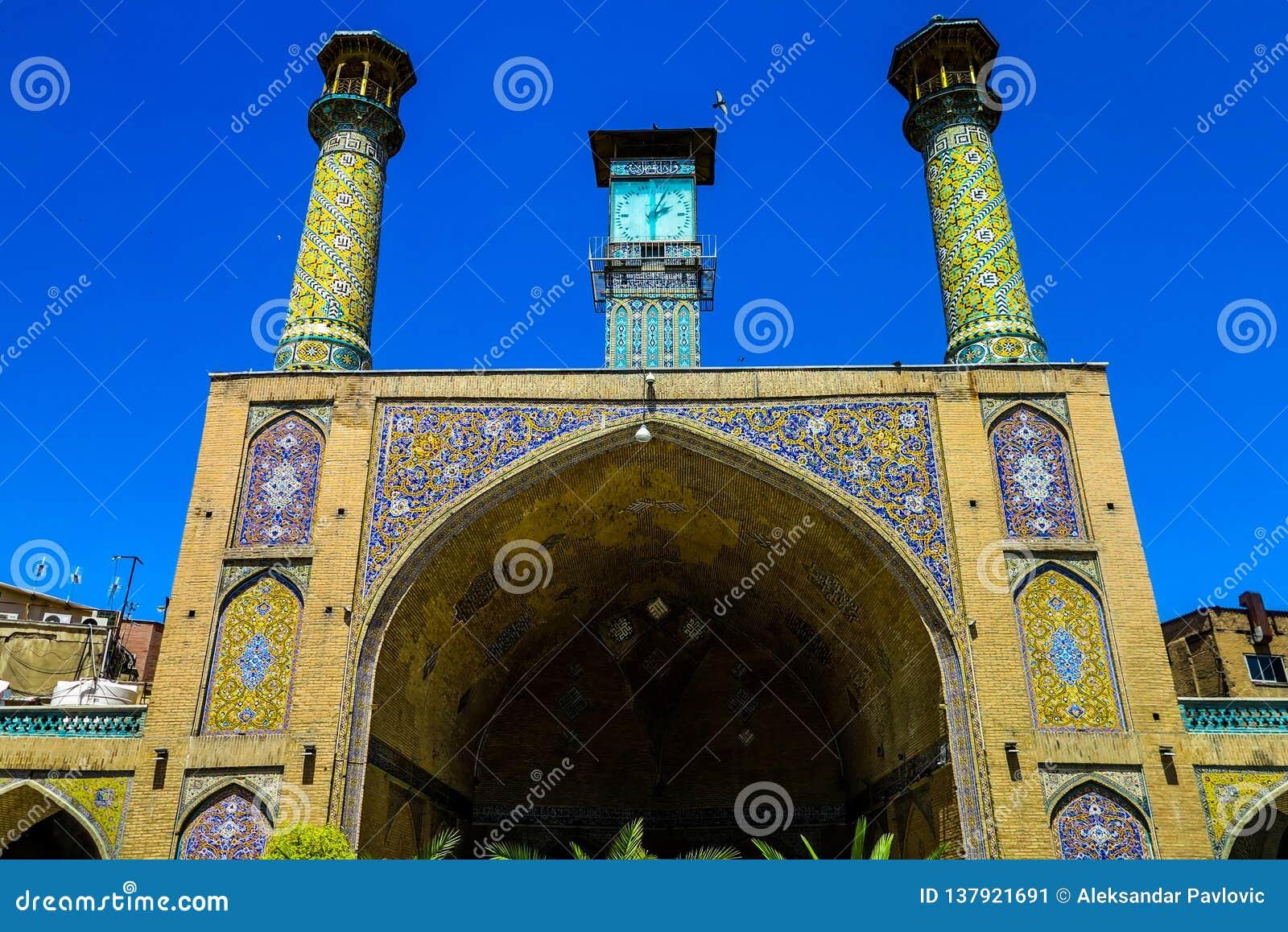 Bazar magnífico 10 de Teherán