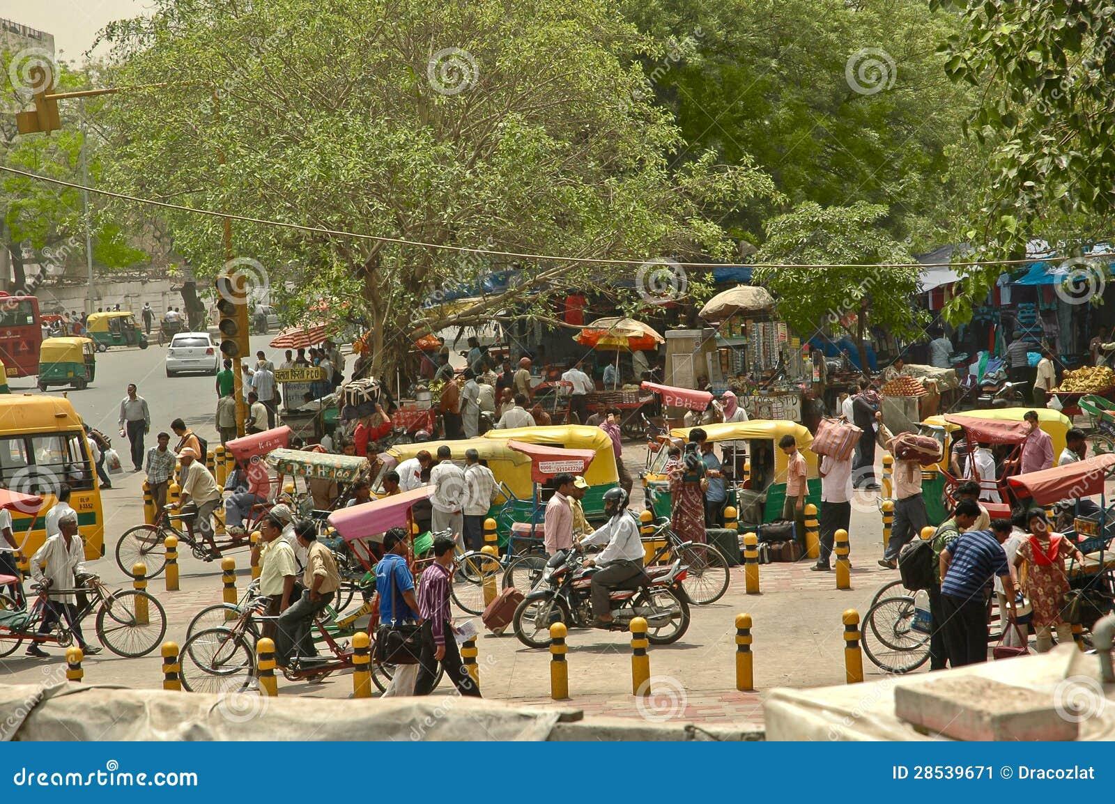 bazar principal de rue passante paharganj delhi l. Black Bedroom Furniture Sets. Home Design Ideas
