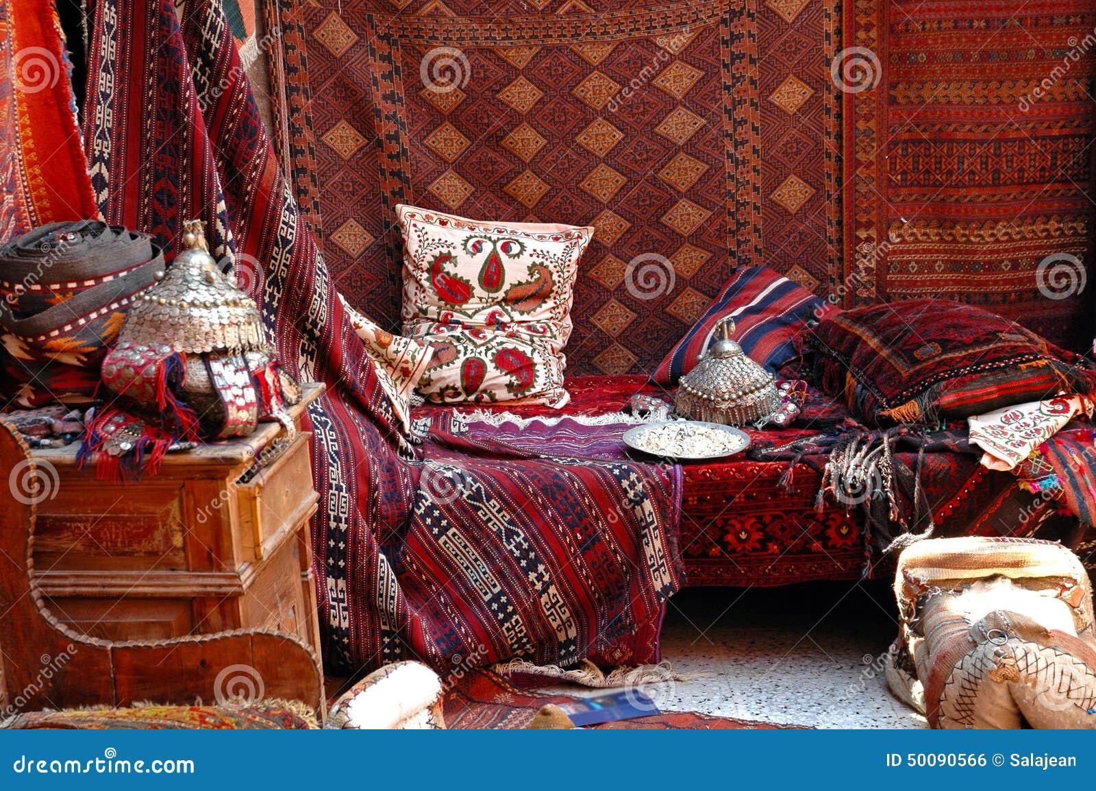 Bazar turco, mercado de la alfombra