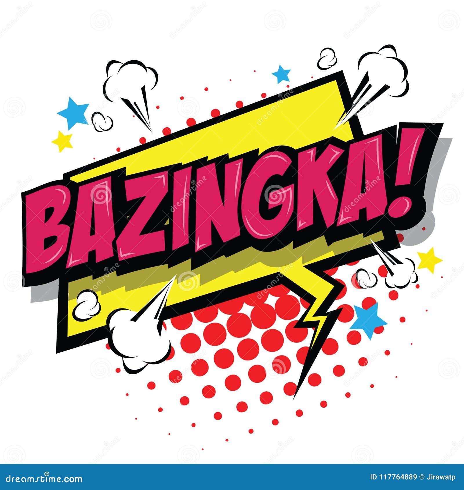 Bazinga stock vector. Illustration of icon, exclamation 36744669.