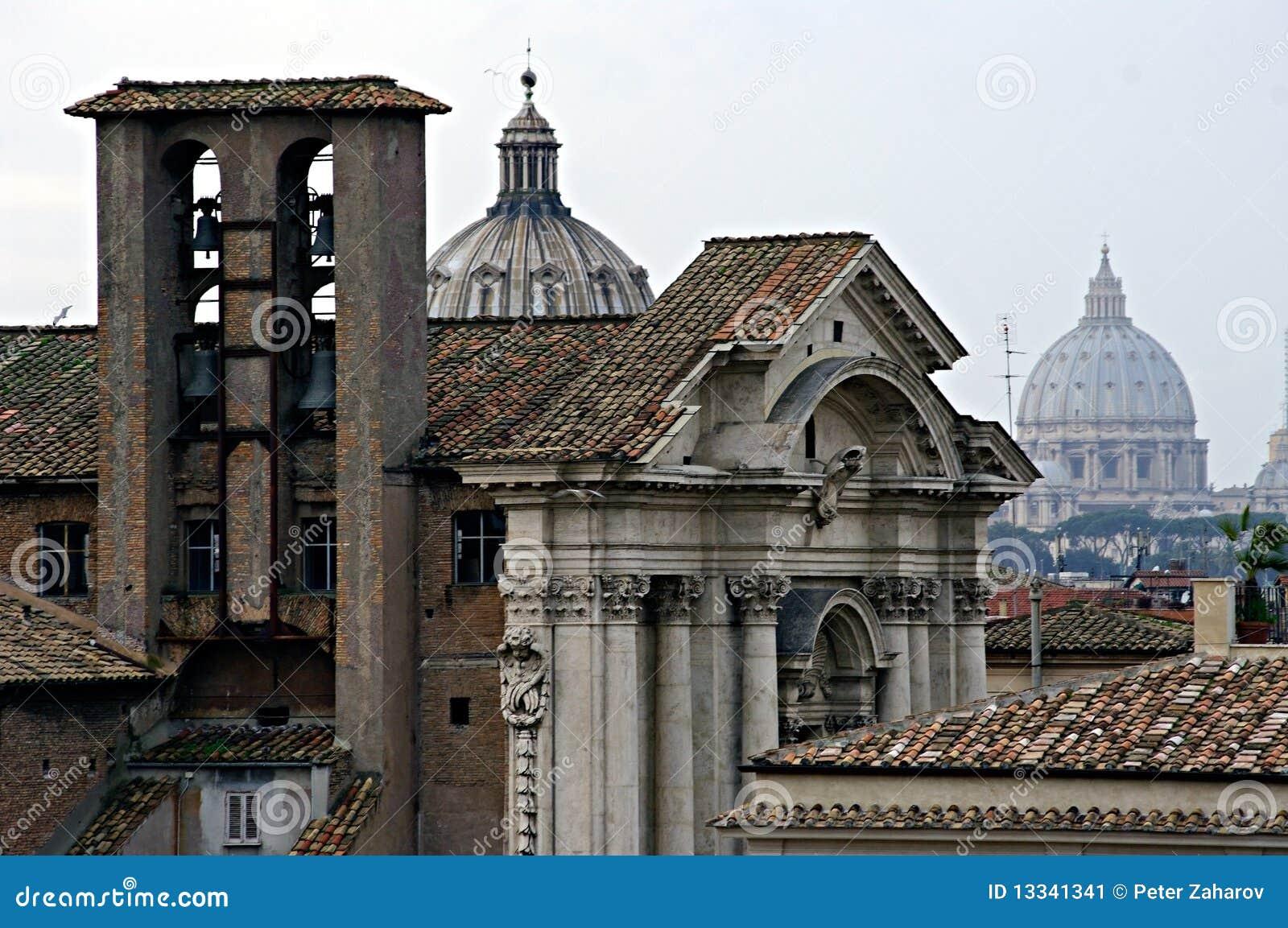 Bazyliki Italy Peter Rome s st widok