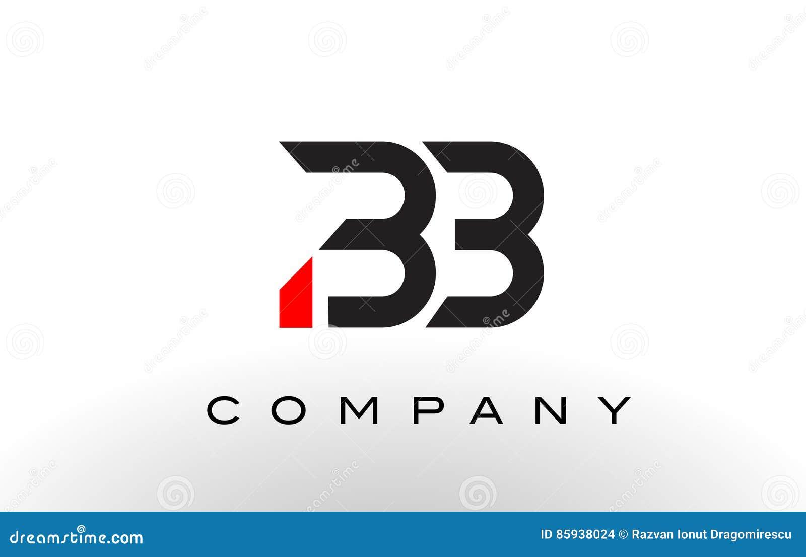 BB Logo. Letter Design Vector. Stock Vector - Illustration