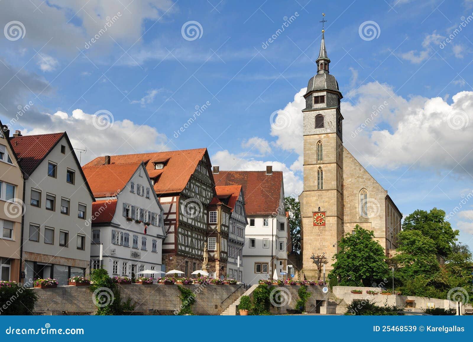 Boblingen Germany  City pictures : Beautiful town Boblingen near Stuttgart in Germany,Europe.