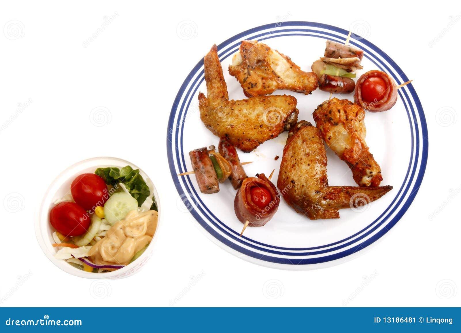 Bbq γρήγορο φαγητό