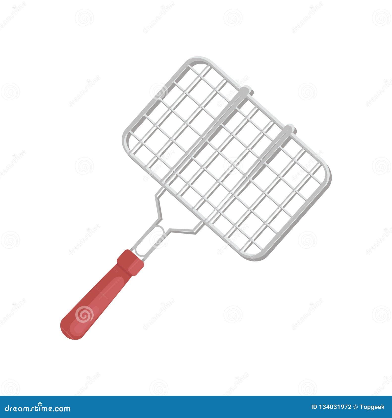 BBQ варя иллюстрацию вектора значка гриля инструмента