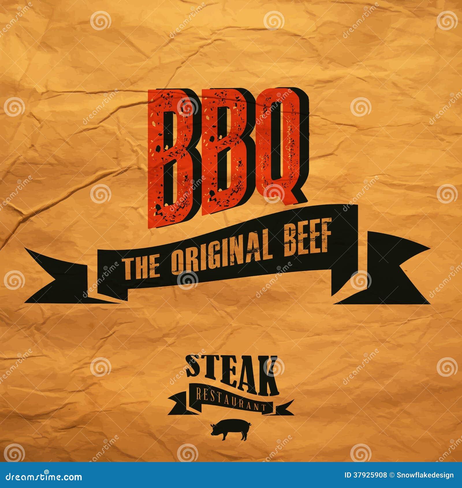 Ярлык BBQ