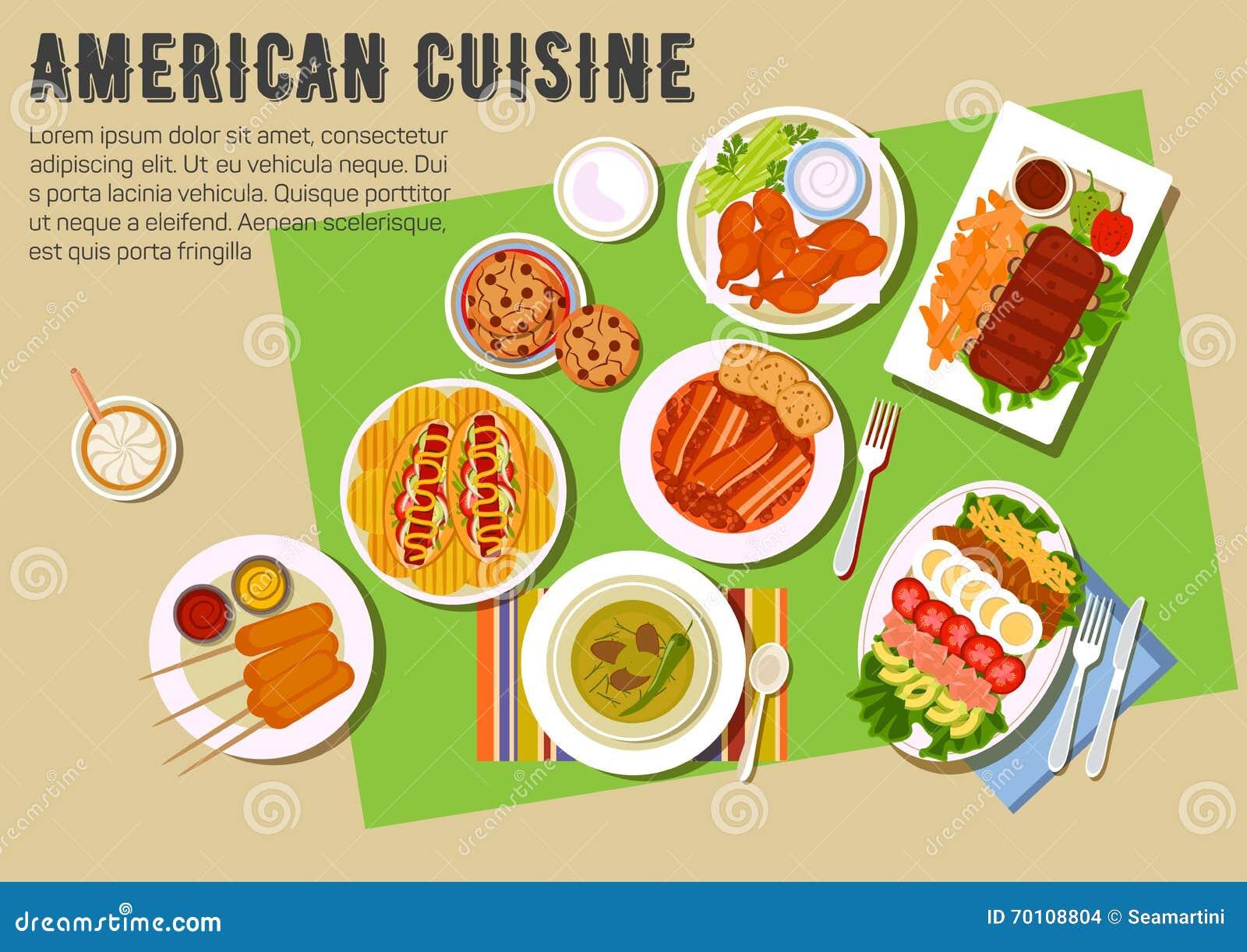 Bbq bawi si p ask ikon z ameryka skimi kuchni for 416 americana cuisine