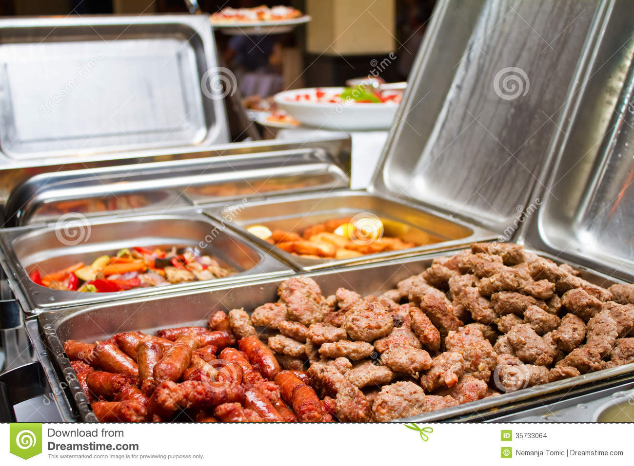 Bbq Catering Stock Images Image 35733064