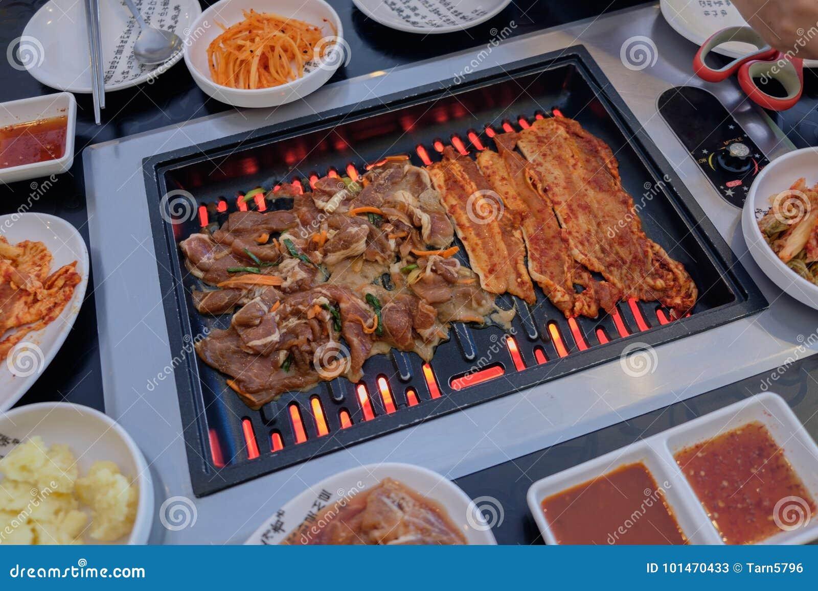 BBQ coréen de porc