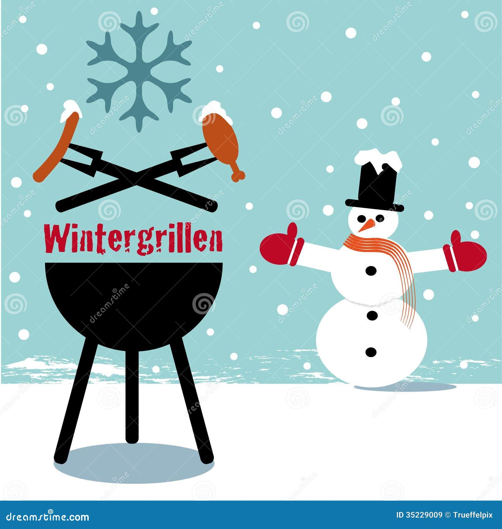 BBQ d hiver